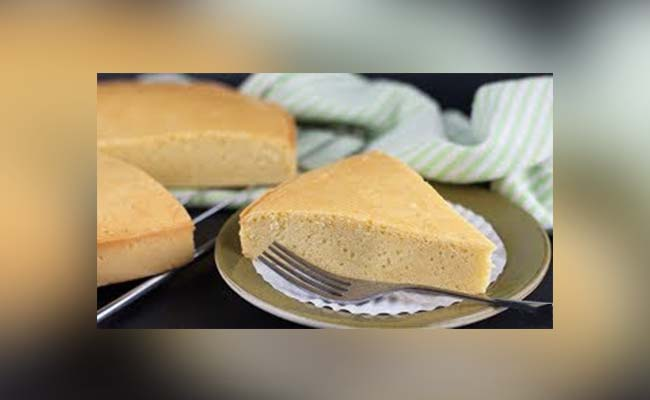 Keto Vanilla Sponge Cake