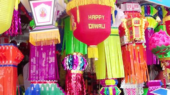 Paper Lampshades - A Diwali Hanging Decorative Item