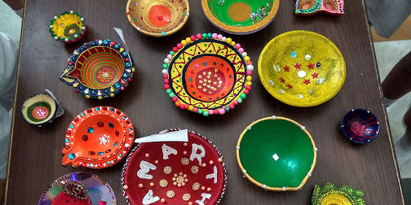 Diya Decoration Ideas to Brighten up Diwali Celebrations