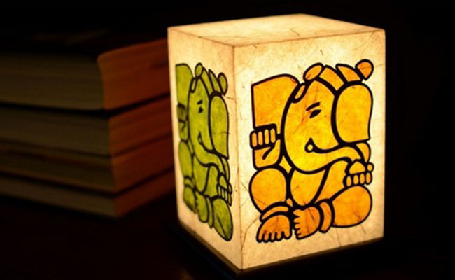 Ganesha Diwali Lamp