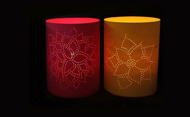 Flower Dots Lamp