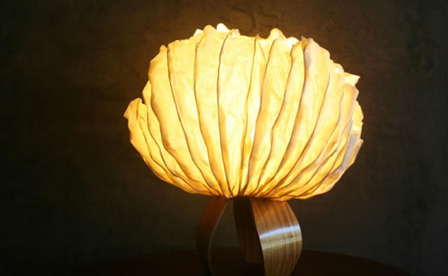 Paper Trail Lamp
