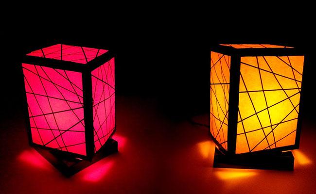 Square Web Lamp