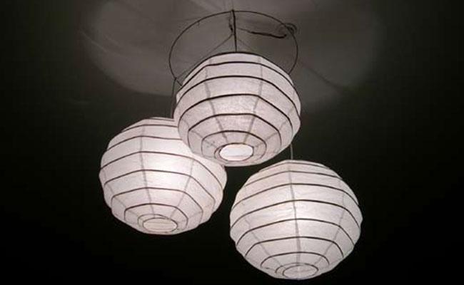 White Web Lamp