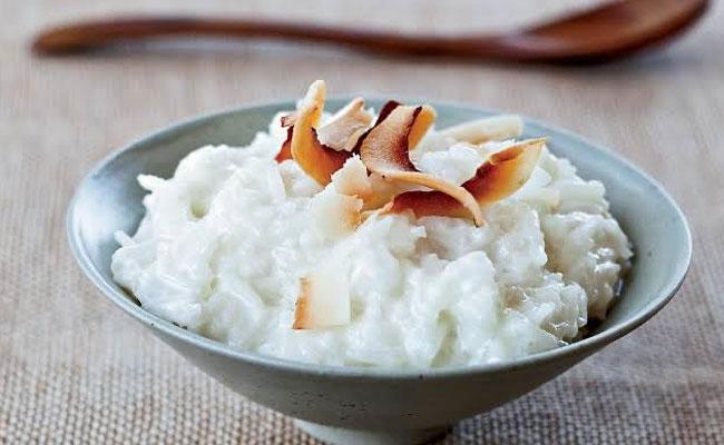 Coconut Milk Rice Pudding