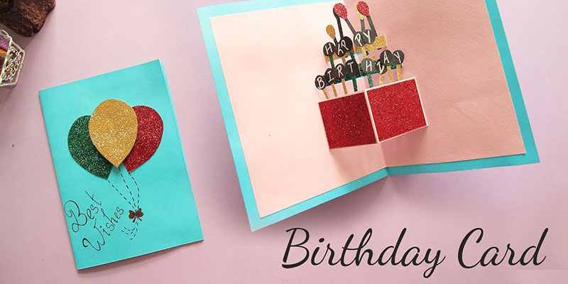 Creative Handmade DIY Birthday Card Ideas