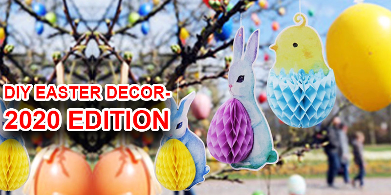 Try these DIY Easter Decor this Easter and HOP for the Best
