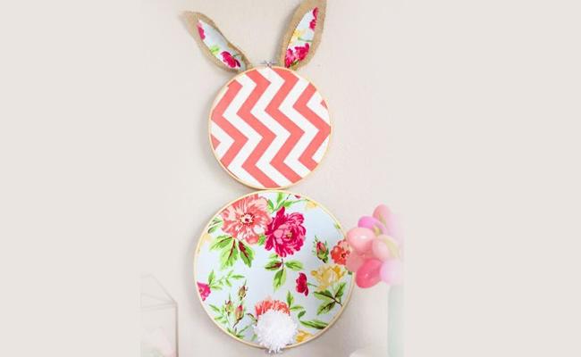 DIY Hoop Bunny