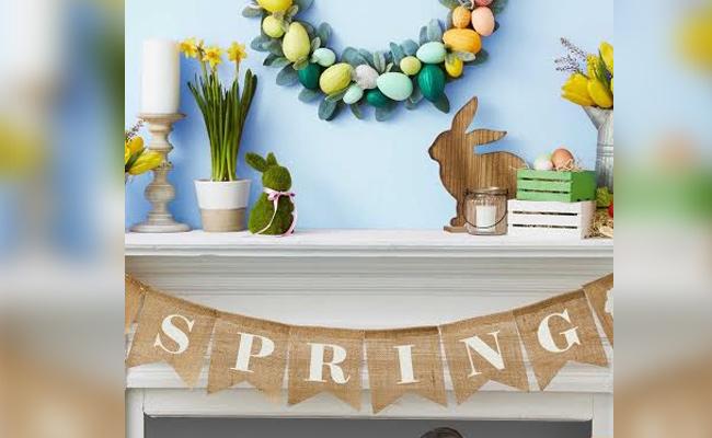 Easter Egg-shell Wreath