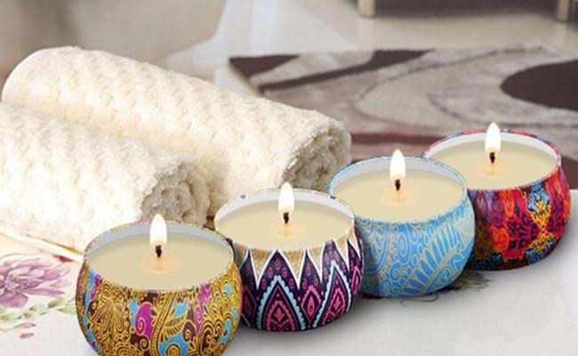 DIY Fragranced Candles for Mom