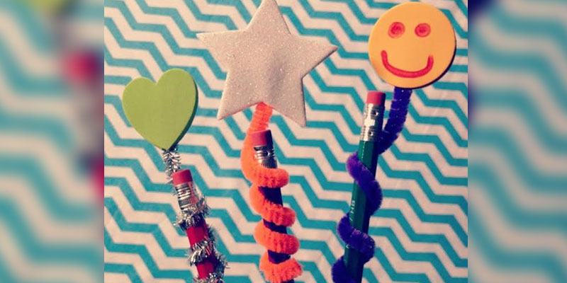 DIY Pencil and Pen Ideas that will make Crafting Fun!