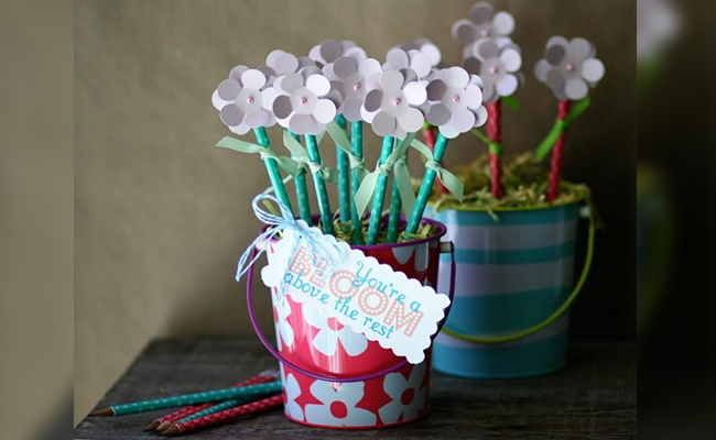 DIY Pen Bouquet