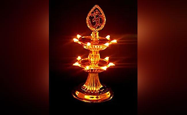 Diya lighting lamps