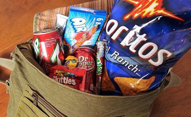 A Bag Full Of Eatables