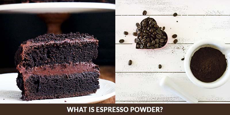 espresso powder for baking