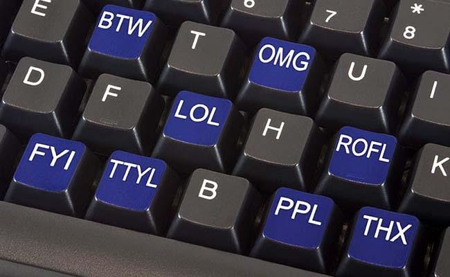 You know the modern lingo