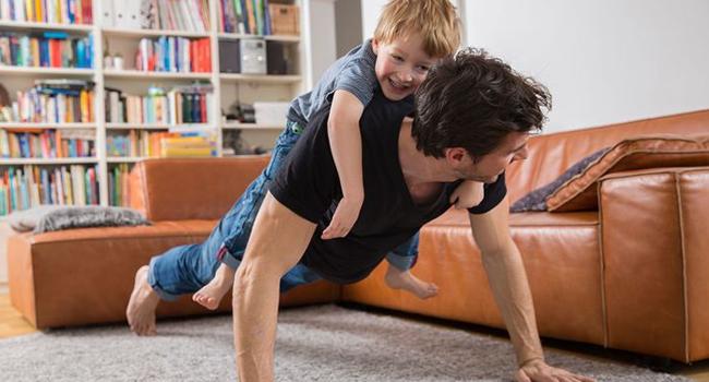 Be a healthy dad