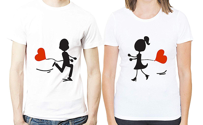 couples customized T-Shirts