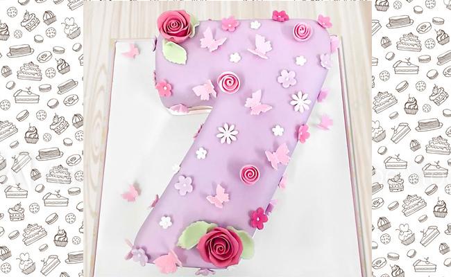 Super Seven Cake