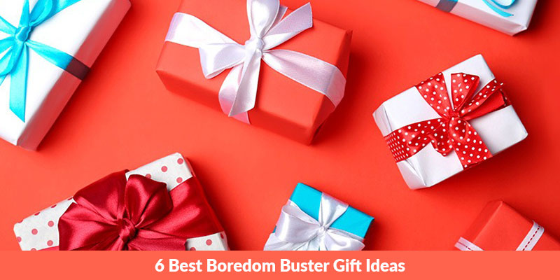6 Best Boredom Buster Gift Ideas