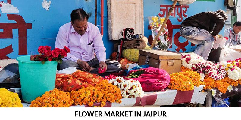 Flower Market in Jaipur - Jaipur Flower Market