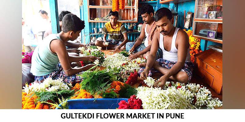 Flower Market in Pune