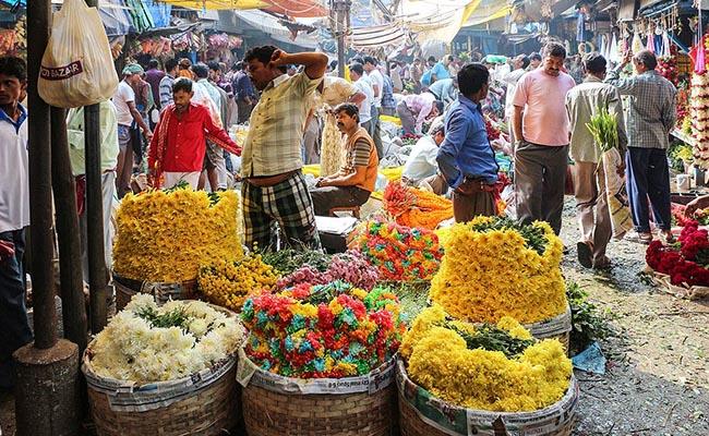 Gudimalkapur Flower Market in Hyderabad
