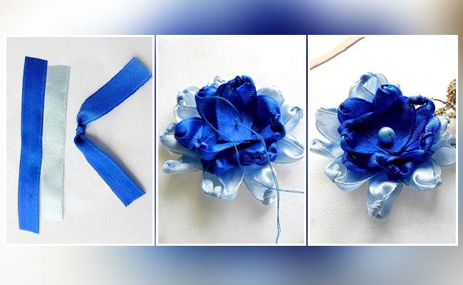 Knotty Ribbon Flower
