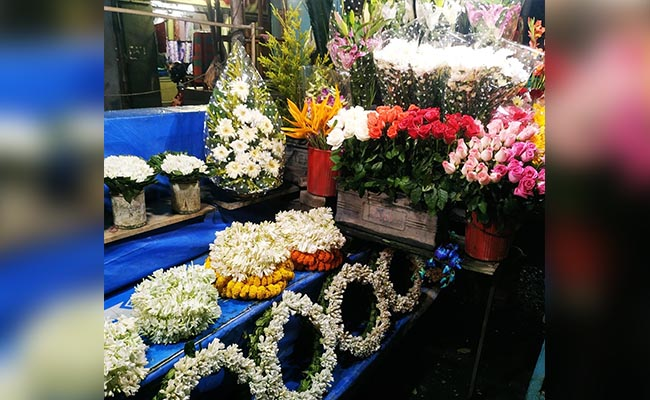Monda Market in Hyderabad