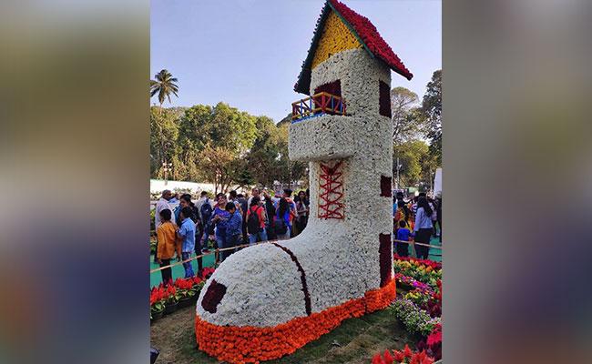 show of flowers in Mumbai