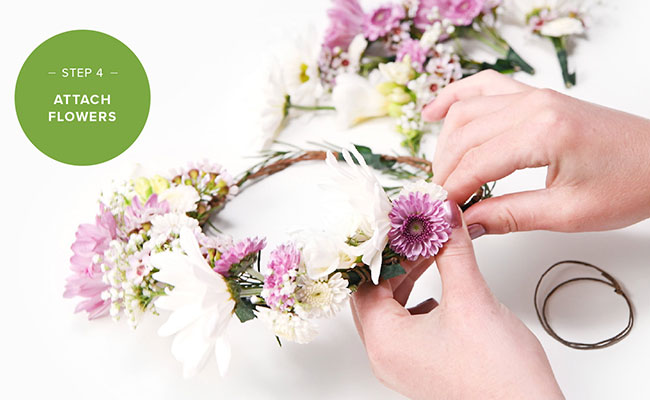 Step 4 To Make A Flower Crown