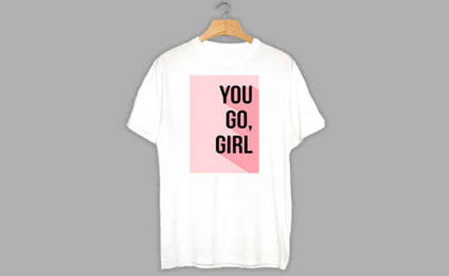 T-Shirt Surprise gift ideas for women's day