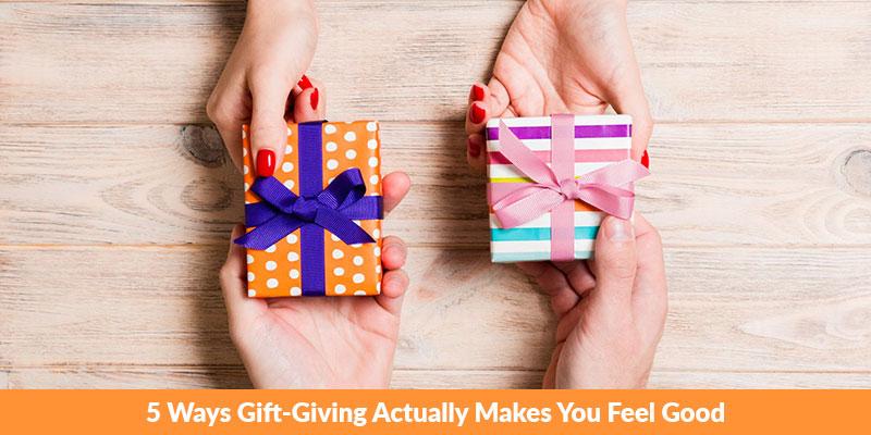 Ways Gift-Giving Actually Makes You Feel Good