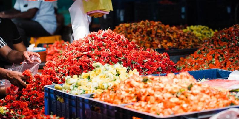 flower-market-in-India