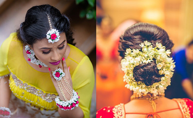 traditions of hyderabad wedding with flowers
