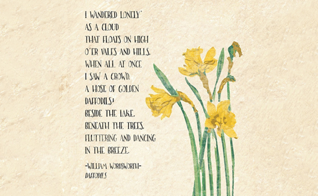 Flowery Touch To Literature Famous Flower Poems These poems express loving, healing and touching feelings that we all can relate to. literature famous flower poems