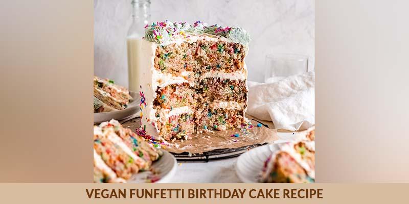 Vegan Funfetti Birthday Cake Recipe