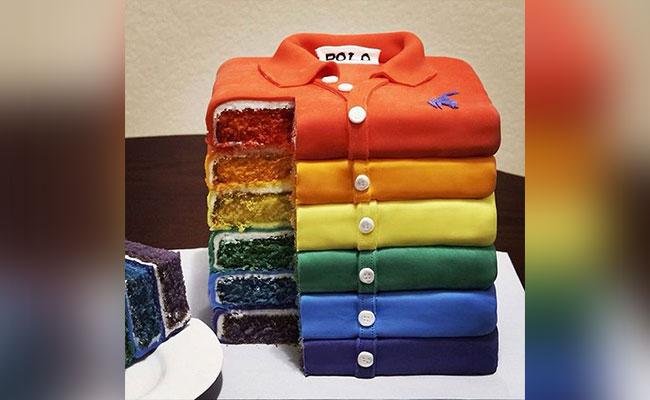 T- Shirt Stack Cake