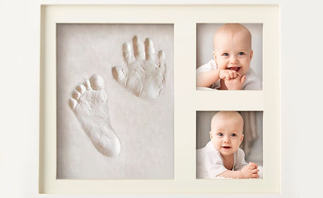 Baby Hand and Footprint Picture Frame