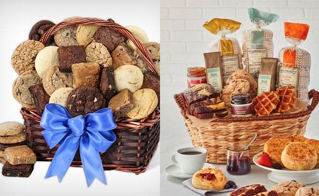 Basket Full Of Baked Goodies