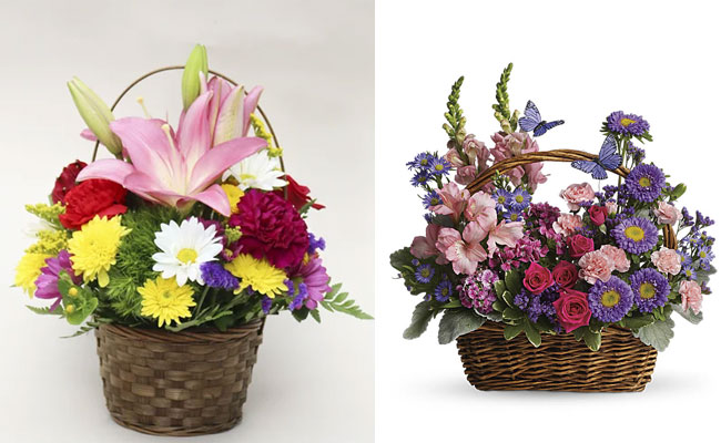 Basket Full Of Blooms