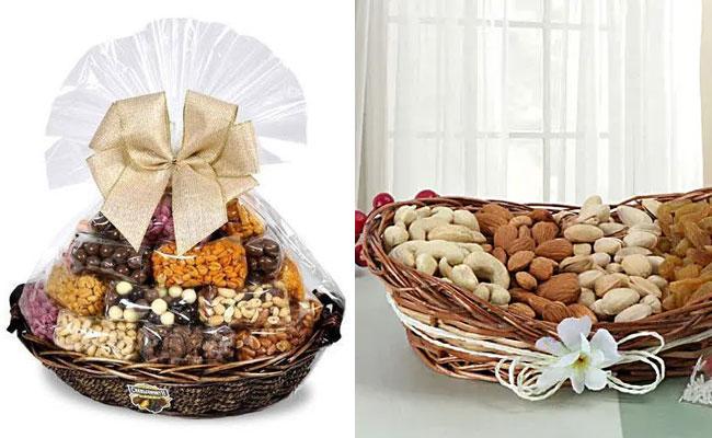 Basket Full Of Dryfruits