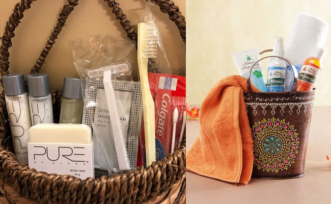 Basket Full Of Grooming Products