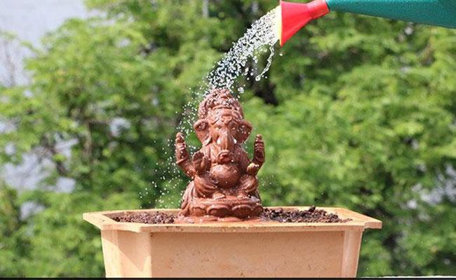 Eco-friendly God Idol