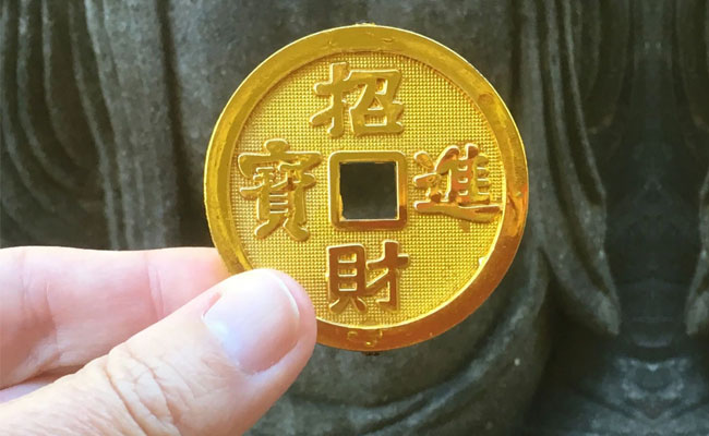 Gold Chinese Coins