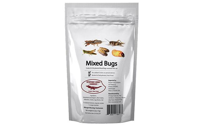 Mixed Edible Bugs Bag