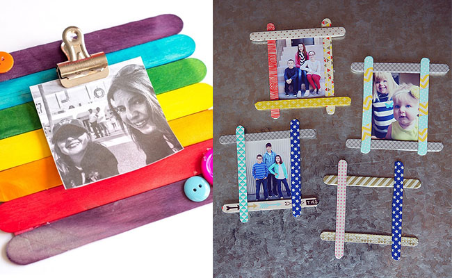 Popsicle Picture Frame