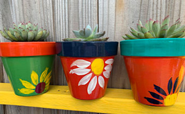 Potted Flower Planter