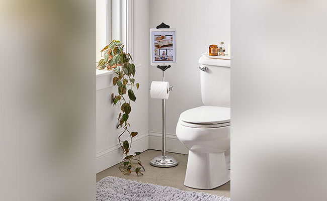 Toilet Paper Holder Mobile Stand