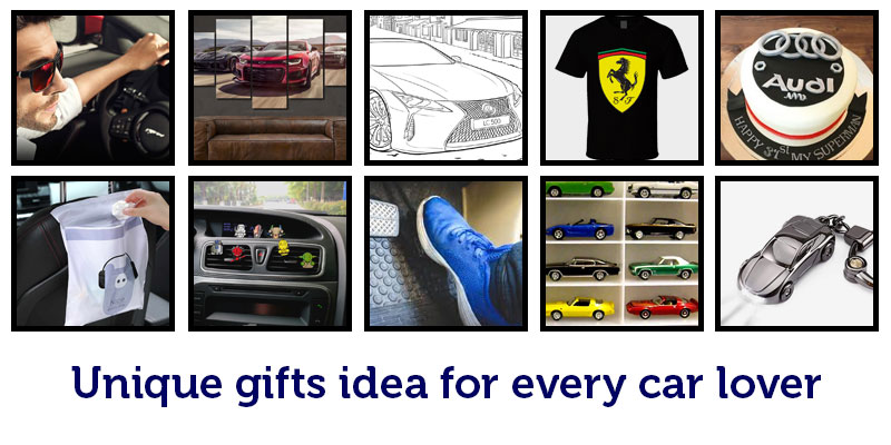 Unique gifts idea for every car lover
